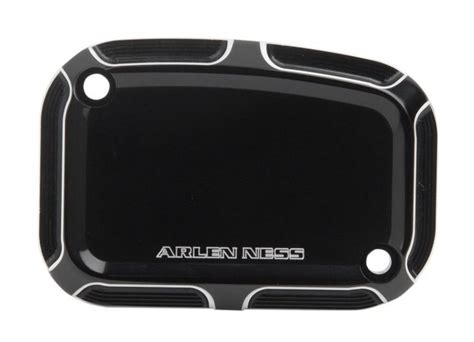 Arlen Ness Beveled Front Master Cylinder Covers Black Right Kanan arlen ness beveled hydraulic clutch master cylinder cover for harley touring 2014 2016 10 6