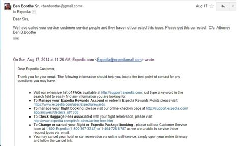 Complaint Letter About Hotel Reservation Expedia Crooks Incompetent Or Just Don T Care Check Out 897 Complaints