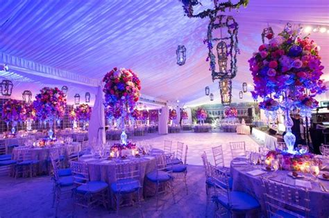 pink purple garden inspired tented wedding   york