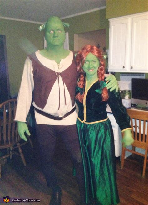 shrek fiona couple costume