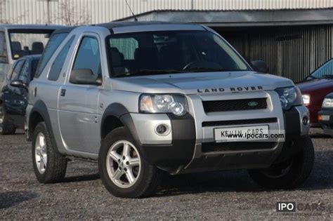 2005 land rover freelander 2 0 td4 dpf sprot leather air aluminum car photo and specs