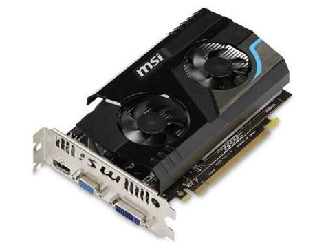 Vga Card Hd 6670 Msi R6670 Md1gd3 Radeon Hd 6670 Card 1024mb Ddr3