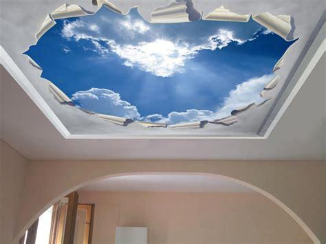 finestre a soffitto decori per soffitto t trompe l oeil