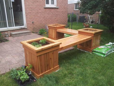 bench planter box plans 55 best woodworking projects images on pinterest home