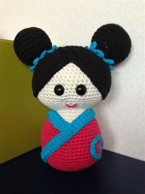 amigurumi geisha pattern 17 best images about crochet japanese dolls on