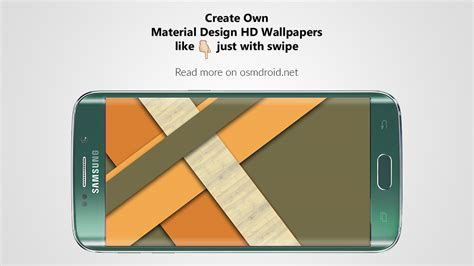 material design wallpaper maker how to create own material design hd wallpapers with swipe