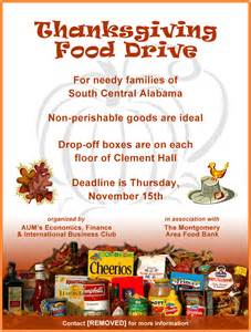 can food drive flyer template food drive flyer mcgough