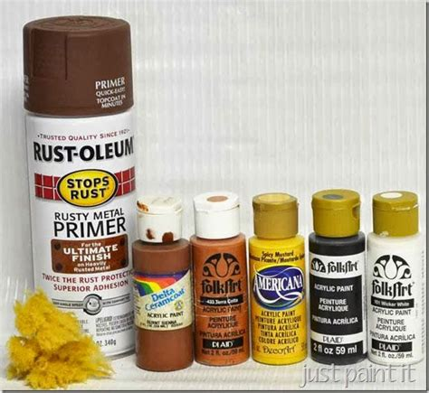 faux rust spray paint how to paint faux rust