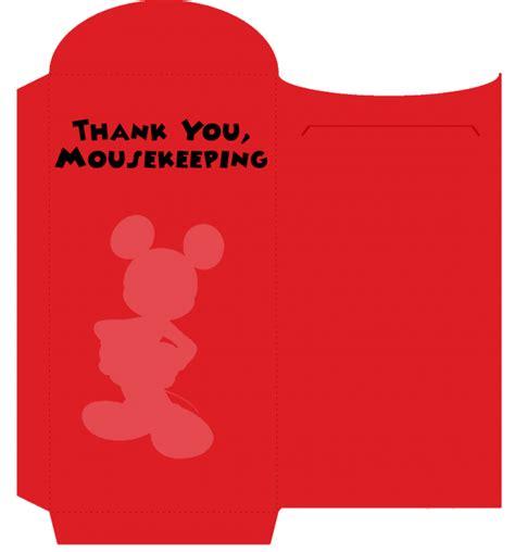 printable mickey mouse envelope merryweather s cottage diy disney mousekeeping envelopes