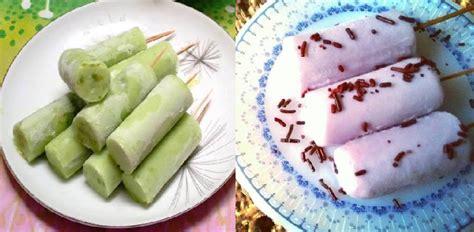 Es Potong resep membuat es potong jajanan jadul anak 90an yang