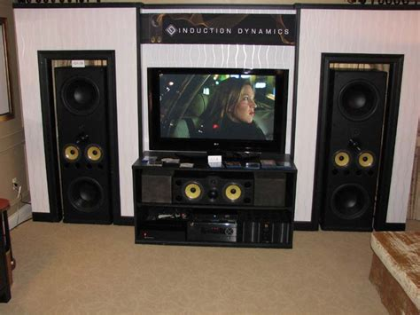 induction dynamics id tower speaker preview audioholics
