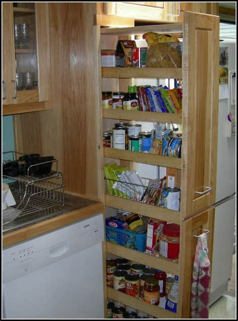 Rolling Kitchen Pantry Cabinet Rolling Pantry Shelves Narrow Pantry Home Design Ideas