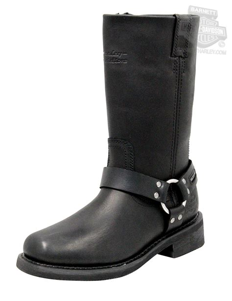 mens harley riding boots 95353 harley davidson 174 mens hustin waterproof black high