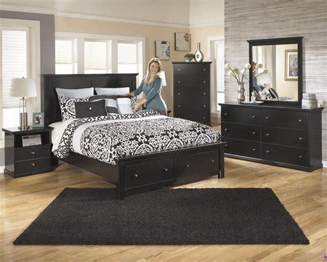 ashley queen bed ashley b138 maribel queen storage bed