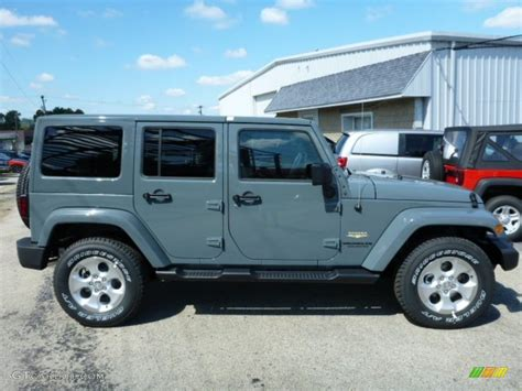 anvil jeep color 2014 jeep wrangler unlimited anvil color autos post