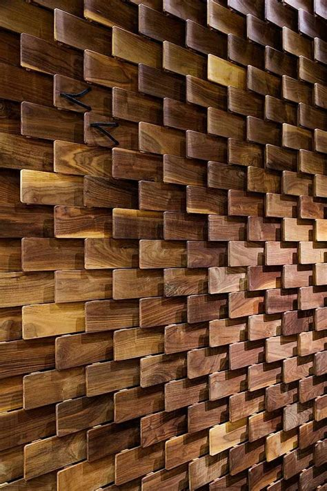 wooden feature wall timber pinterest