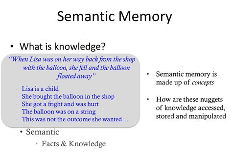 how is a s memory home learning episodic and semantic memory