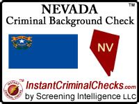 Nevada Background Check Nevada Criminal Background Checks For Pre Employment