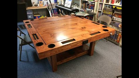 diy gaming table   youtube