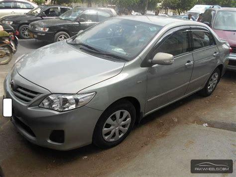 2011 Toyota Corolla Capacity Used Toyota Corolla Gli 2011 Car For Sale In Karachi