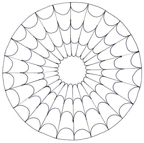 simple mandala coloring pages pdf mandala simple cobweb mandalas with geometric patterns