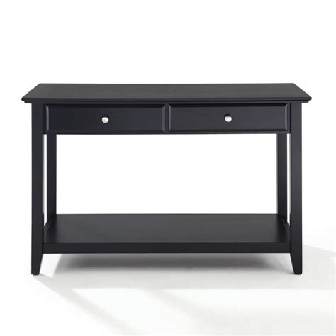 Black Sofa Table With Storage Black Console Table With Black Sofa Tables