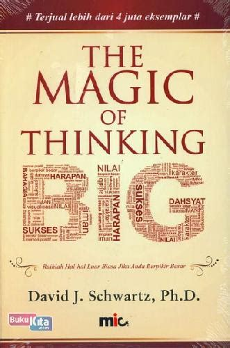 the magic of thinking bukukita com the magic of thinking big toko buku online