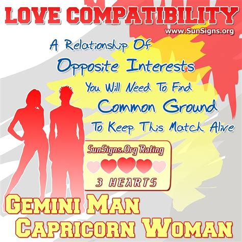 gemini keeps capricorn signs of books gemini and capricorn compatibility sun signs
