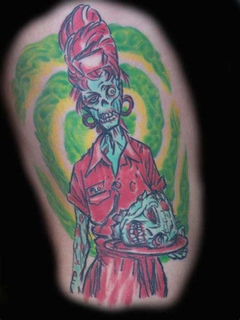 hot zombie tattoo zombie tattooed pinterest zombie tattoos tattoo and