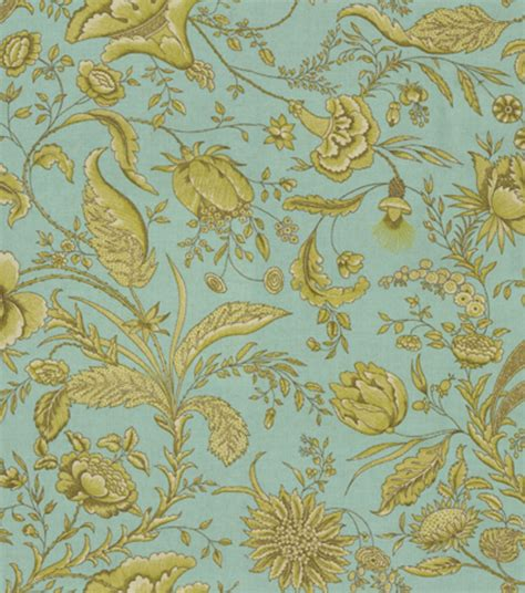 waverly home decor fabric home decor print fabric waverly fanciful crme de menthe