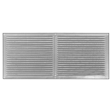 master flow 8 ft aluminum eave soffit vent in