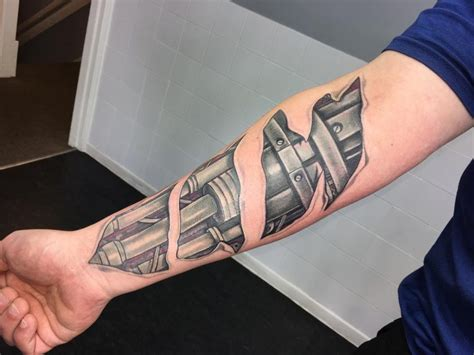small biomechanical tattoos 75 best biomechanical designs meanings top of