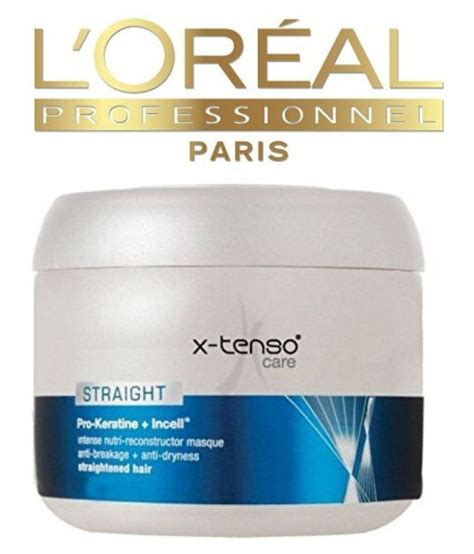 X Tenso Care L Oreal loreal imported x tenso care conditioner gel 200 ml buy