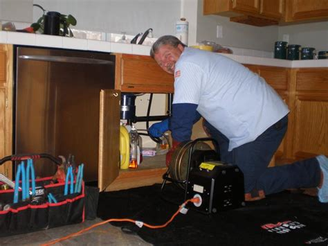 clean out kitchen drain rooter guys a better plumbing and rooter service