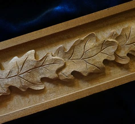 leaf pattern wood carving carving a grape leaf design mary may s school of