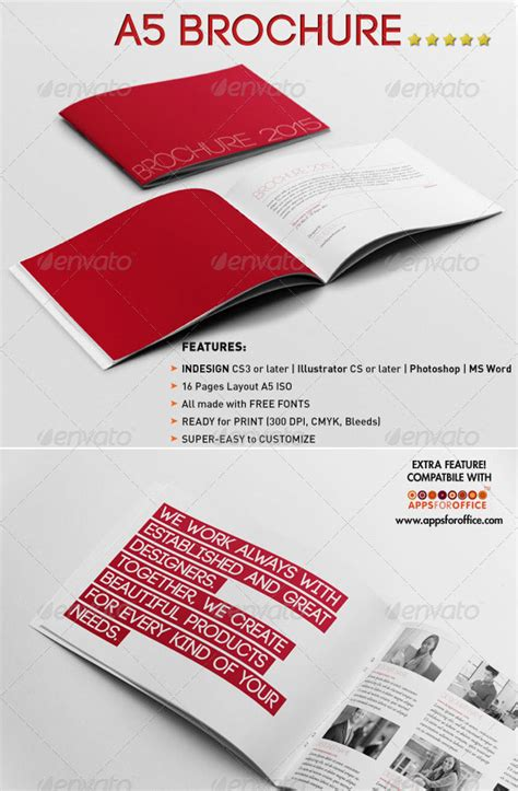 a5 brochure template 34 awesome psd brochure design templates web