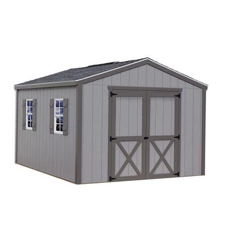 barns elm  ft   ft wood storage shed kit elm