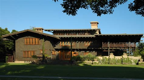the gamble house in pasadena e architect