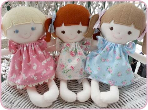 Handmade Rag Doll Patterns - 23 most creative handmade gift ideas pouted