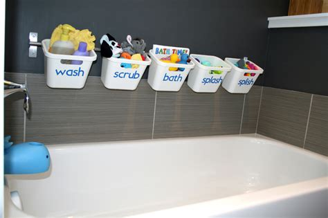 bathroom toy storage bath toy storage that transforms to guest luxury bathroom