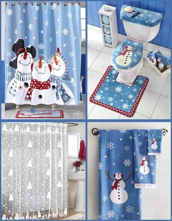 christmas bathroom decor 9 types photo and ideas