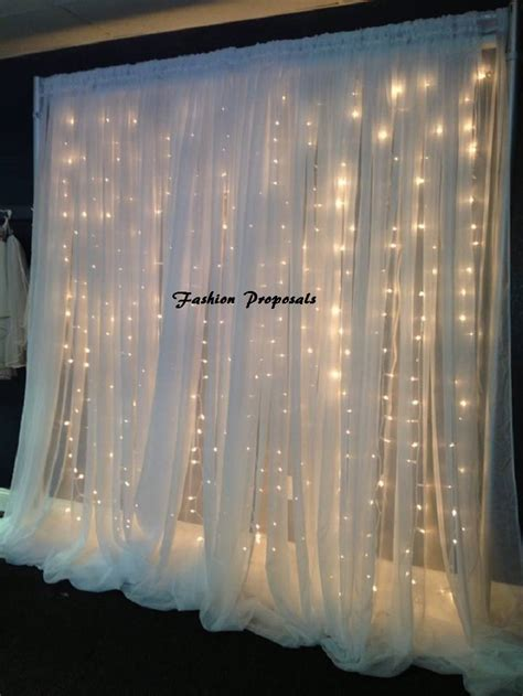 Led Backdrop Lights Led Backdrops Drapes With Voile Light Backdrop For Sale