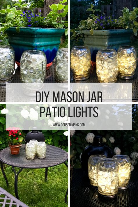 Jar Patio Lights by Curly Crafty