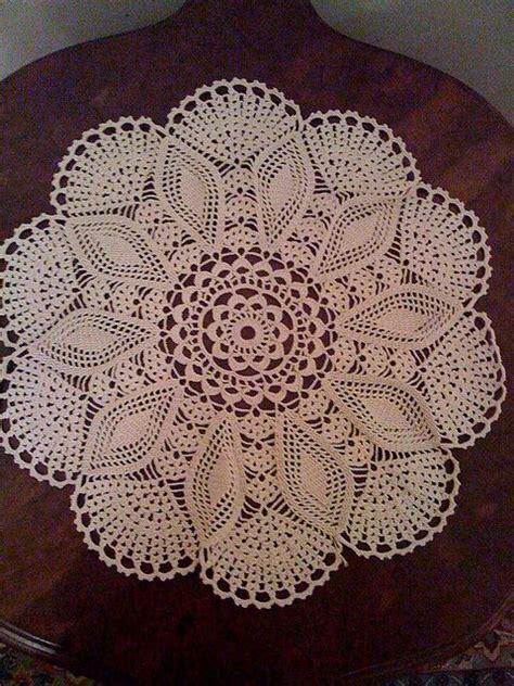 Handmade Doily - handmade crochet doily crochet doilies scallops