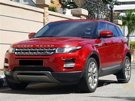 maroon range rover land rover range rover evoque 2012 sd4 prestige 2 2 in