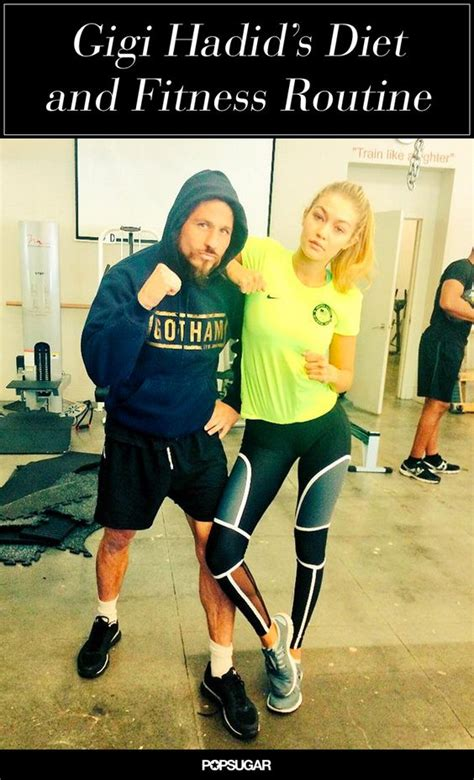 gigi hadid workout and diet a rundown of how gigi hadid stays in top model shape