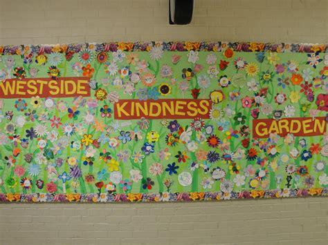 Garden Bulletin Board Ideas Kindness Garden Board Future Stuff Pinterest