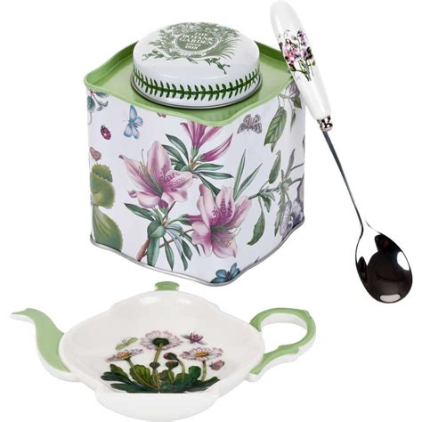Portmeirion Botanic Garden Set Portmeirion Botanic Garden Tea Caddy Set Louis Potts