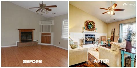 Home Design Before And After by Before And After Fixer Upper The Everyday Home