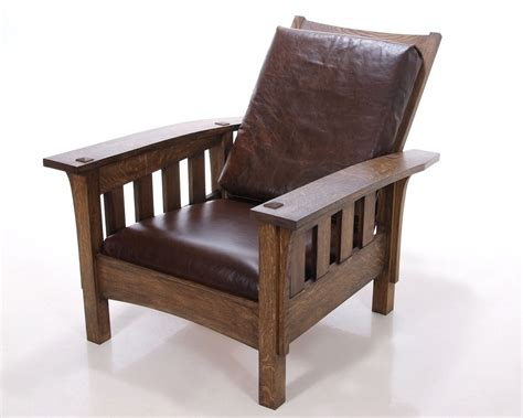 Morris Armchair by Crafted Morris Chair By Kauffman Furniture Custommade